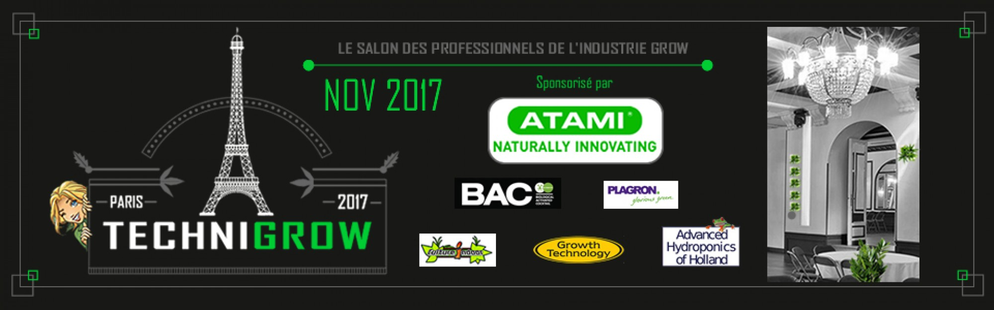 Technigrow France, le salon des professionnels du secteur grow français
